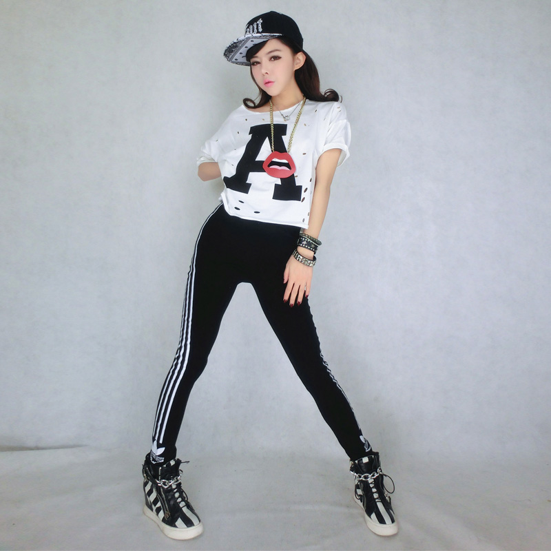 New fashion clothing female jazz dance costumes DS hip hop dance costume  hiphop stage jazz.-in Garment Labels from Home   Garden on Aliexpress.com  137cfd7c60d