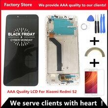 5.99 pouces AAA qualité LCD avec cadre pour Xiaomi Redmi S2 LCD écran de remplacement pour Redmi S2 LCD Digiziter assemblée