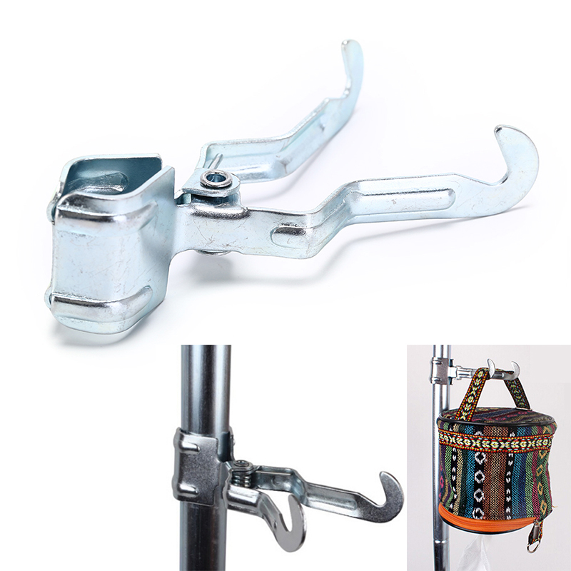 4pcs Portable Outdoor Camping Stuff Holder Hanger Clasp Clip Clamp on Tent
