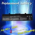 Jigu batería ordenador portátil del reemplazo para dell inspiron 1525 1526 1545 1440 1750 312-0625 c601h d608h gp952 gw240 m911g xr693