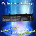 Jigu substituição da bateria do portátil para dell inspiron 1525 1526 1545 1440 1750 312-0625 c601h d608h gw240 xr693 m911g gp952