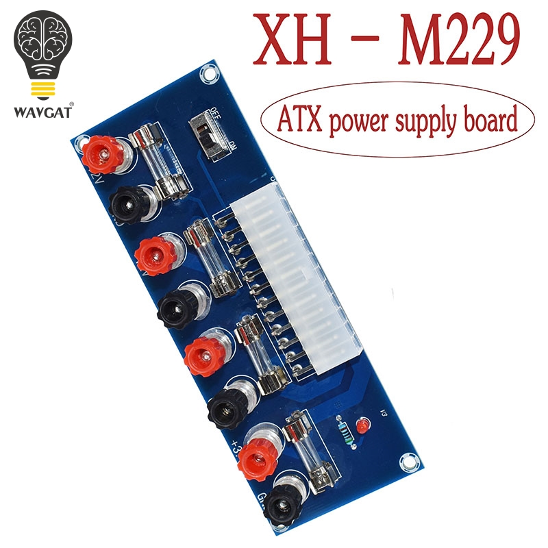 XH-M229 Desktop PC Chassis Power ATX Transfer to Adapter Board Power Supply Circuit Outlet Module 24Pin Output Terminal 24 pinsXH-M229 Desktop PC Chassis Power ATX Transfer to Adapter Board Power Supply Circuit Outlet Module 24Pin Output Terminal 24 pins