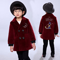 England boy  coat European classic solid  jacket coat for 3-8yrs boys kids children Woolen coat clothes hot sale