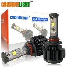 CNSUNNYLIGHT Super Helle 7200LM 9006 HB4 Auto Led-scheinwerfer Conversion Kit Auto Nebel DRL Licht Xenon 3000 Karat 4300 Karat 6000 Karat Lampe lampen