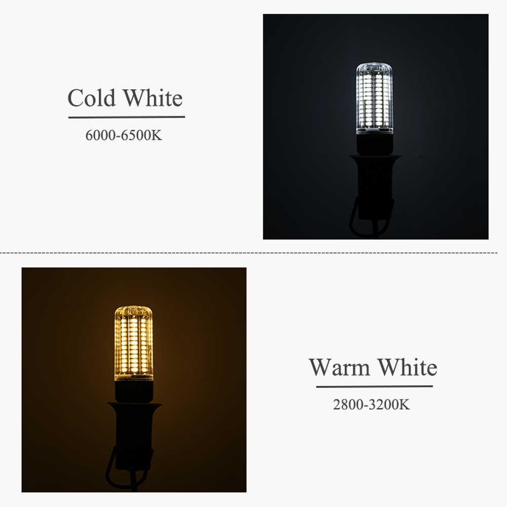 LED لمبة عالية السطوع E27 E14 24 36 48 56 69 72 المصابيح مصلحة الارصاد الجوية 5730 ضوء النهار LED لمبة ذرة 220 فولت توفير الطاقة لمبة led مصباح e27 e14