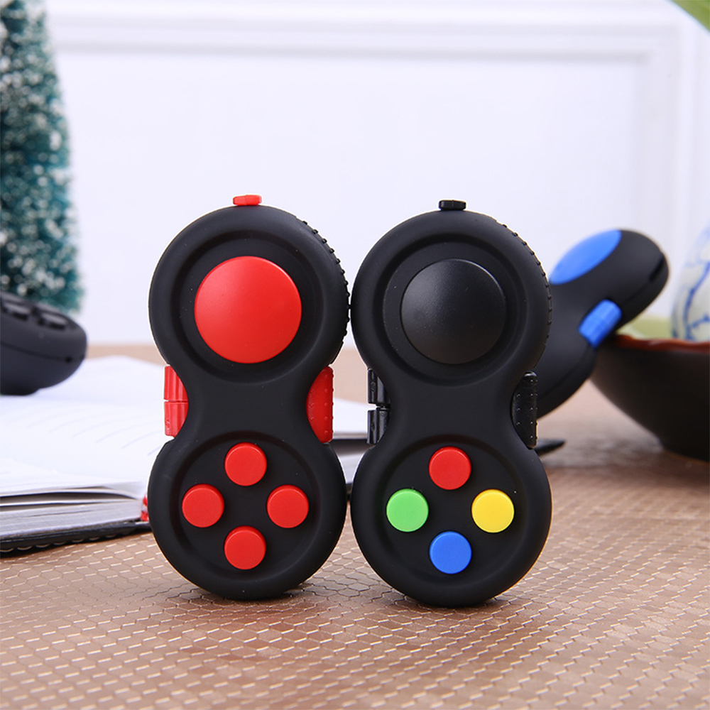 Anti-Anxiety Decompression Cube Fidget Pad Shank Spiners The Hands Stress Reducer Perfec ...