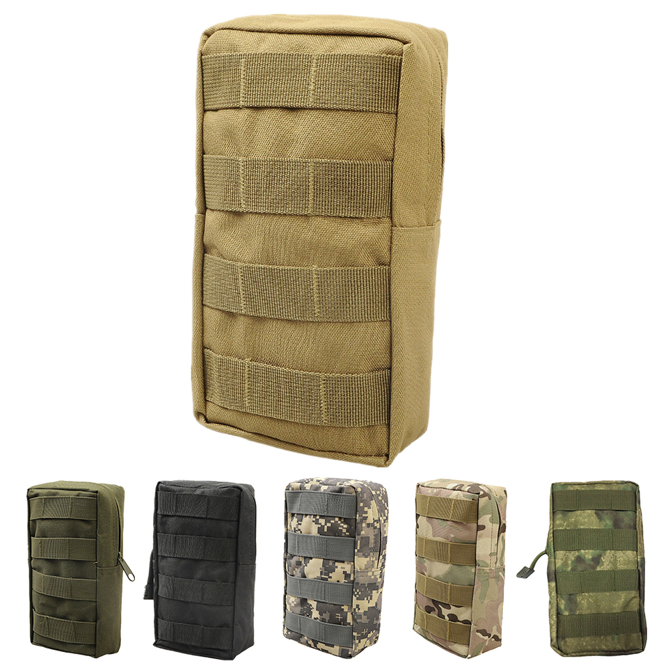Airsoft Sports Military 600D 21X11.5CM MOLLE Utility Tactical Vest Waist Pouch Bag For Outdoor Hunting Wasit Pack Equipment