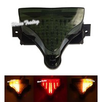 waase For Yamaha YZF R1 2009 2010 2011 2012 2013 2014 Tail Light Brake Turn Signals Integrated LED Light