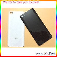 Original New Battery Door Rear Housing For Xiaomi Mi5 M5 Mi 5 Back Cover Case With Side Button Key+logo