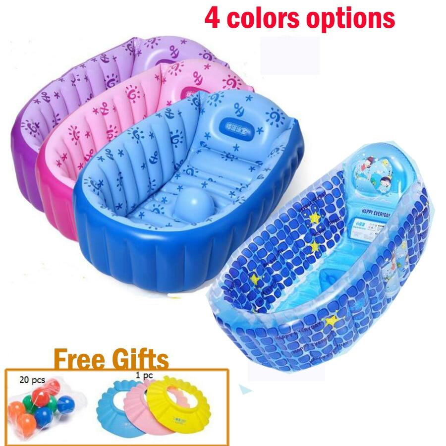 4 colors options cute printed Bath Tub Cartoon Bathtub 0 5 Age ...