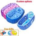 4 opções de cores bonito impresso Banheira Banheira 0-5 Idade Crianças Dos Desenhos Animados Natação Piscina Inflável Dobrável Banheiras de Bebê