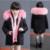 Mãe kidsStar Crianças roupas crianças casaco de inverno de pele de coelho Rex forro interno 2016 casaco com capuz Casaco gilrs Sólidos Longa e Cheia
