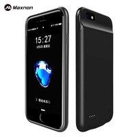 MAXNON 3000 mAh Caja de Batería Externa de Carga Para el iphone 7 teléfono Móvil Clip de Nuevo Caso Del Cargador Power Bank