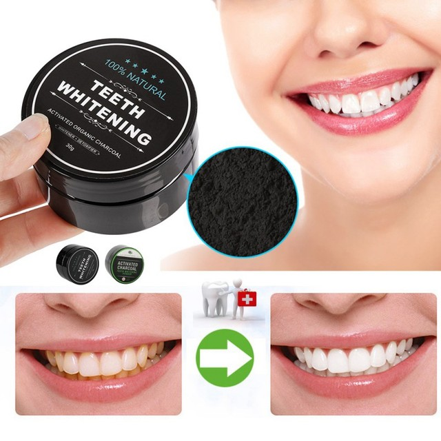 1 PCS Teeth Whitening Oral Care Charcoal Powder Natural Activated Charcoal Teeth Whitening Powder Oral Hygiene