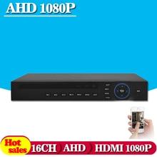 16-канальный AHD 1080N Полный 960 H 25fps записи 720 P Завершена 4CH Видео DVR/NVR/HVR Камеры Безопасности система ip-камера HI3531 DVR