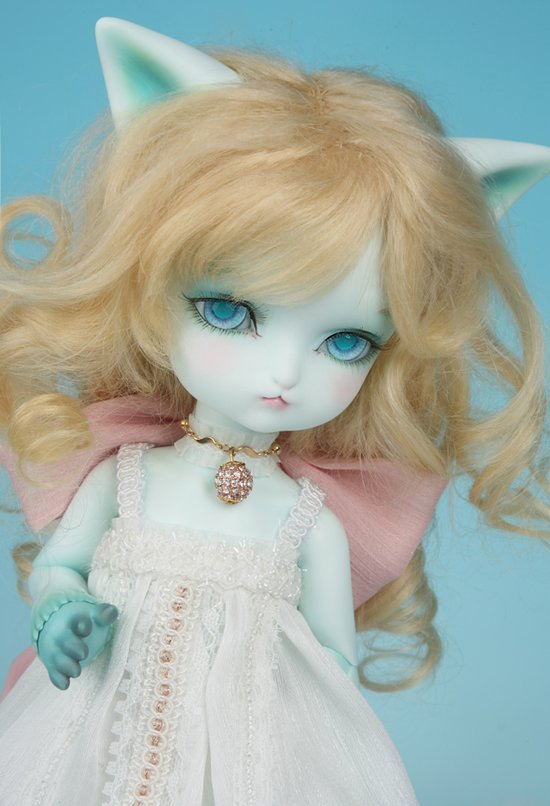 1/6 scale doll Nude BJD Recast BJD/SD cute Elf cat Resin Doll Model Toys.not include clothes,shoes,wig and accessories 16B2163