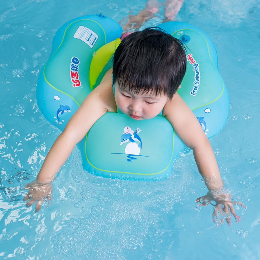 New Baby Swim Ring Float Inflatable Kids Swimming Pool Accessories Infant Circle Inflatable Raft Children's Toy For Dropship