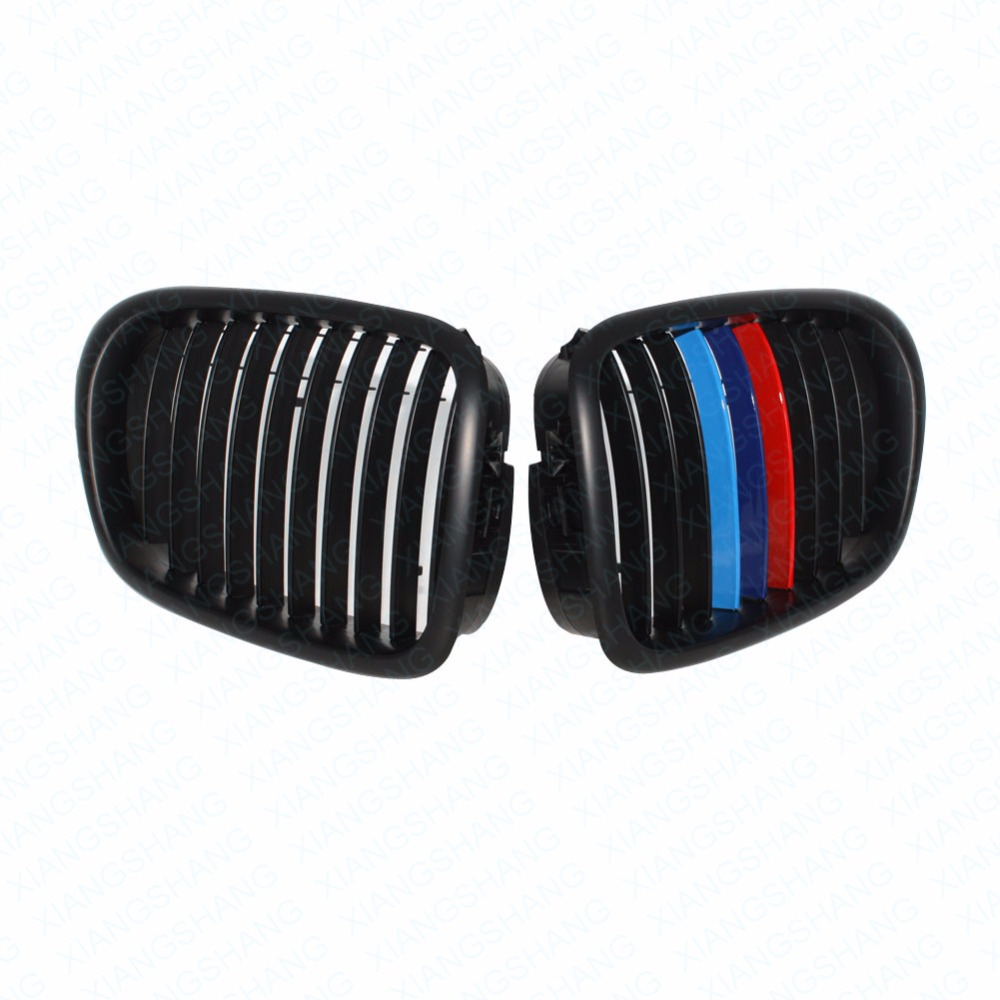Купить 2x автомобильный стиль матовый черный авто передняя ножная решетка