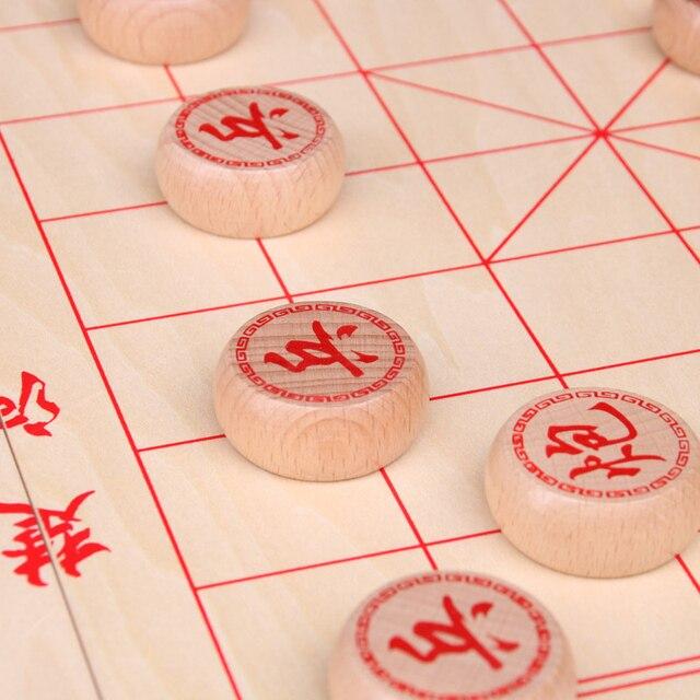 Jeu de xianqi traditionnel (échecs chinois) plateau pliable. 2