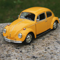 Candice guo alloy car model classic vw Volkswagen beetles beetle 1967 special Vintage plastic motor children gift Christmas 1pc