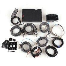 10 in1 Modified Racing Gauge Speed Tachometer Oil/Fuel Pressure Turbo/IN-MF Exhaust / Oil /Water TemperatureVolt Air/Fuel Ratio
