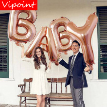 VIPOINT PARTY 40inch rose gold baby love foil balloons wedding event christmas halloween festival birthday party HY-187