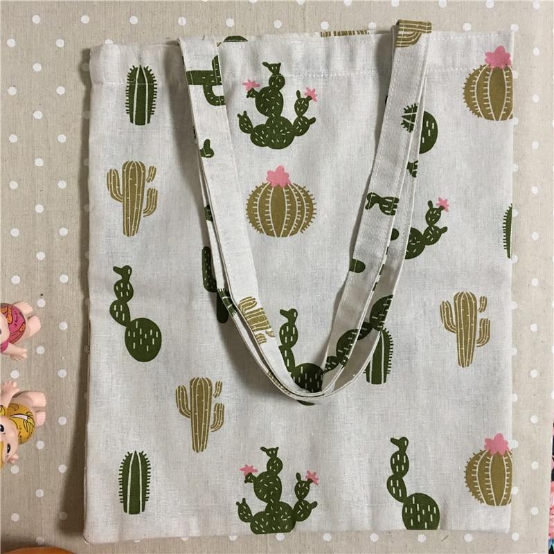 Gepäck & Taschen Ehrgeizig Yile Baumwolle Leinwand Eco Einkaufstasche Umhängetasche Flamingo Green Leaf Schwarz Basis L18a