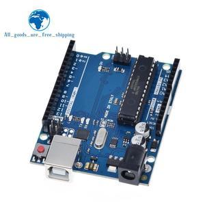 Image 5 - TZT 1 zestaw uno r3 MEGA328P ATMEGA16U2 (z logo) dla Arduino kompatybilny