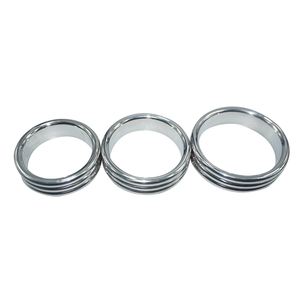 Buy 40mm/45mm/50mm choose Top quality new design stainless steel cock ring metal sex toys penis ring