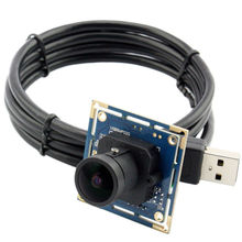 CCTV 170 Degree Fisheye Lens Wide Angle Mini Security USB Camera Module 8MP for PC Computer