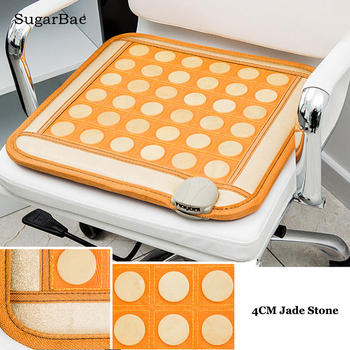 RELAX Mixed tourmaline jade infrared heating magnetic therapy flat mat Mattres Germanium/tourmaline stone physiotherapy pad