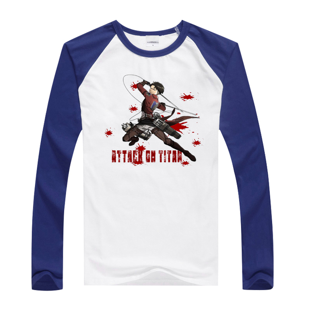 Attack On Titan Long Sleeve T-Shirt (15 Design)