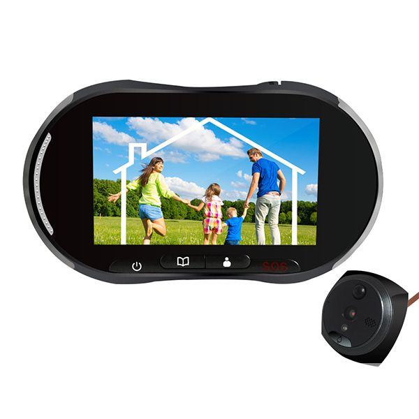 GSM Alarm Video Door Phone IR Night Vision Motion Detection