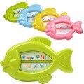 Пластиковые Игрушки Ванны Младенческой Тестер Температура Игрушки Детские Плавающей Рыбы Воды Термометр Игрушки подарок