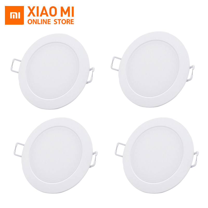 2019 Xiaomi Mijia Smart Downlight Wifi Work with Mi home App Smart Remote  control White & Warm LED adjustable intelligent Lig