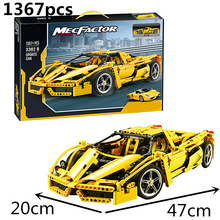Technic City Series Racers F1 Racer 1:10 Car Building Blocks Kits Bricks Classic Model Kids Toys Compatible цена