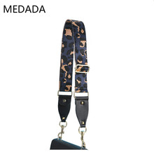 MEDADA New 2019 Leopard Print Strap Accessories  Belt Wide Shoulder Bag Handbag Part Adjustable