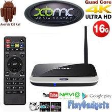 Media Streamer CS918 Quad Core TV RK3188 Android 4.4 2 GB + 16 GB KODI XBMC Full HD Media Player HDMI WIFI Smart TV caja