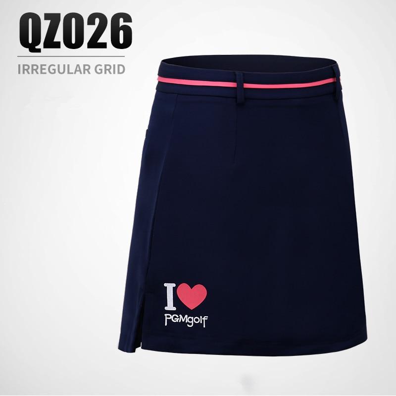 PGM spring summer ladies golf skirt Women print decoration elastic breathable Quick dry Slim Anti Leakage sports Shorts skirts