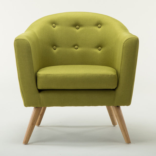 Online Shop Mid Century Modern Style Sofa / Love Seat With Wood Legs ...