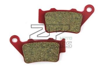 Compuesto de cerámica pastillas de freno Trasero Para HUSQVARNA WR125 WRE 125 1993-2013 1995-2005 TE125 2011-2013 CR125 1995-2004 Motocicleta