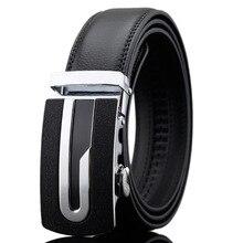 2016 Fashion genuine leather belt strap male automatic buckle belt men's belts ceinture,cinto masculino,cinturones hombre W153