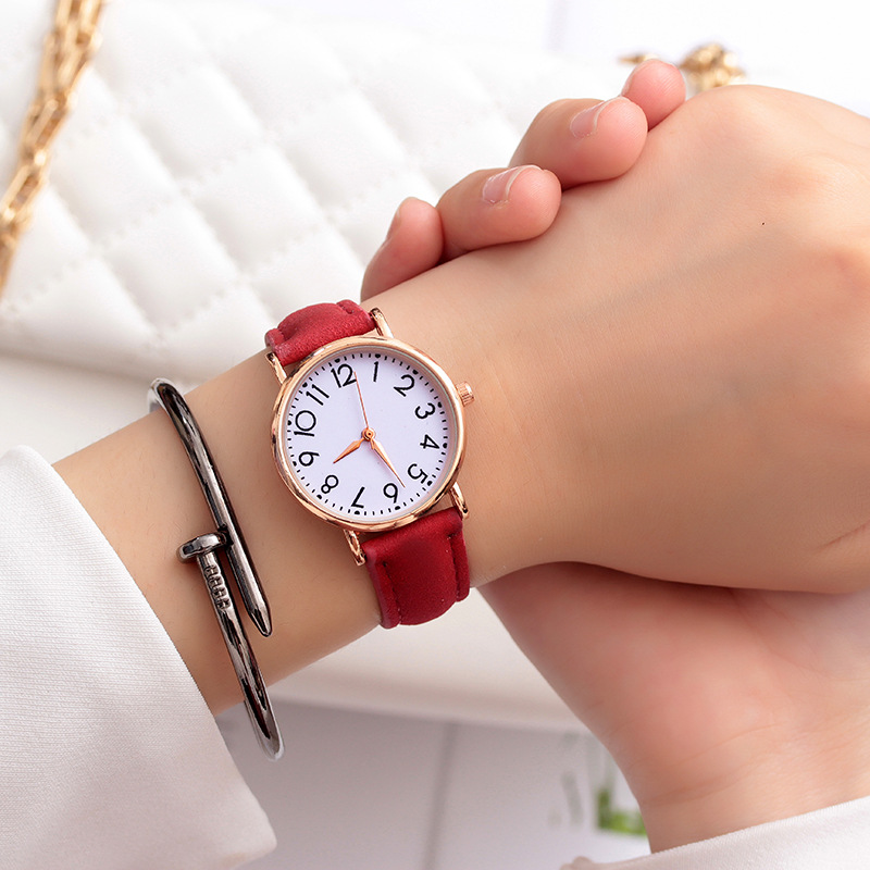 Leather Strap Teen WristWatch Gift Girls Boys Wrist Watch Children Watches Bracelet Fashion Kids Quartz Clock Relogio Infantil