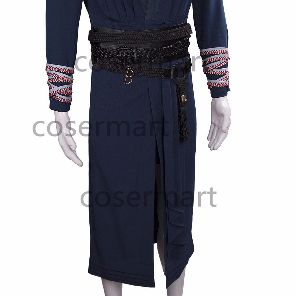 2016 Marvel Movie Doctor Strange Costume Cosplay Steve Full Set Costume Robe Halloween Costume (12)_