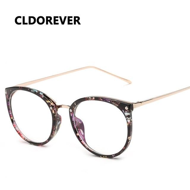 0465e3303 موضة 2018 جولة تأطير خمر النظارات الطبية النظارات البصرية إطارات للنساء  الرجال نظارات نظارات واضحة