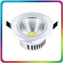 60PCS Warranty 3 Years Epistar Chip 5W 7W 12W 15W 24W 30W COB LED Down Light Dimmable Downlight Recessed Ceiling Spot Bulb