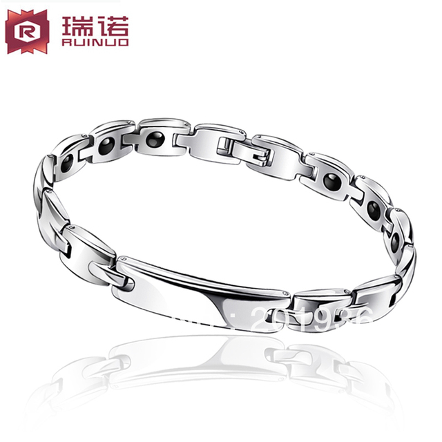 Free shipping,quality goods bracelets,titanium germanium magnetic,health care radiation-resistant,,lover's bracelets,Gift