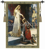 Hot Selling Belgium Tapestry Queen S Knight Big 138 X 97cmtapestry Wall Hangingsdecorative Fabric Picture Home