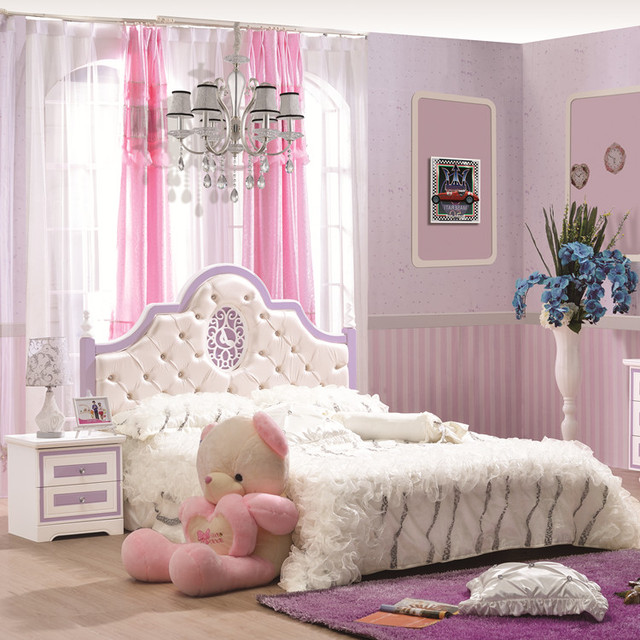 Princess Kids Bedroom Sets Interior Of Master Bedroom Newborn Boy Bedroom Ideas Bedroom For Kids: Children's Furniture Suite Bedroom Suite Princess Bed Bed