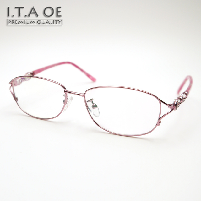 New ITAOE Grace 4 Full Rim Style Alloy Wire Design Women Female ...